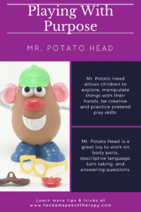 Playing With Purpose: Mr. Potato Head