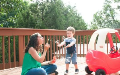 Playing With Purpose: Bubble Blowing