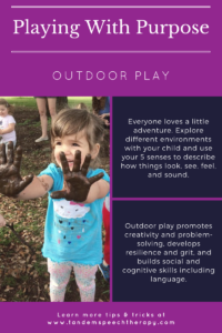 playing with purpose outdoor play