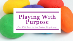 Playdough blog title