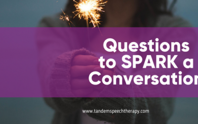 Questions to SPARK a Conversation