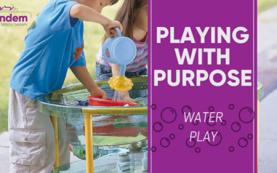Playing With Purpose: Water Play