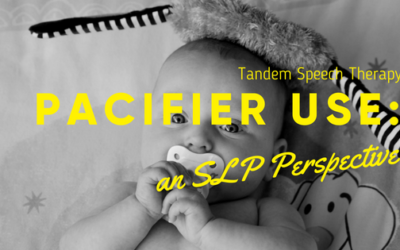 Pacifier Use: an SLP Perspective