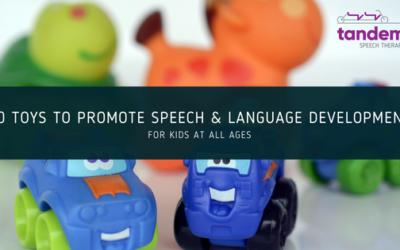 Toys to Promote Speech & Language Development