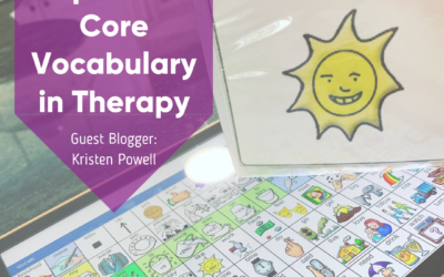 How to Implement Core Vocabulary in Your Therapy