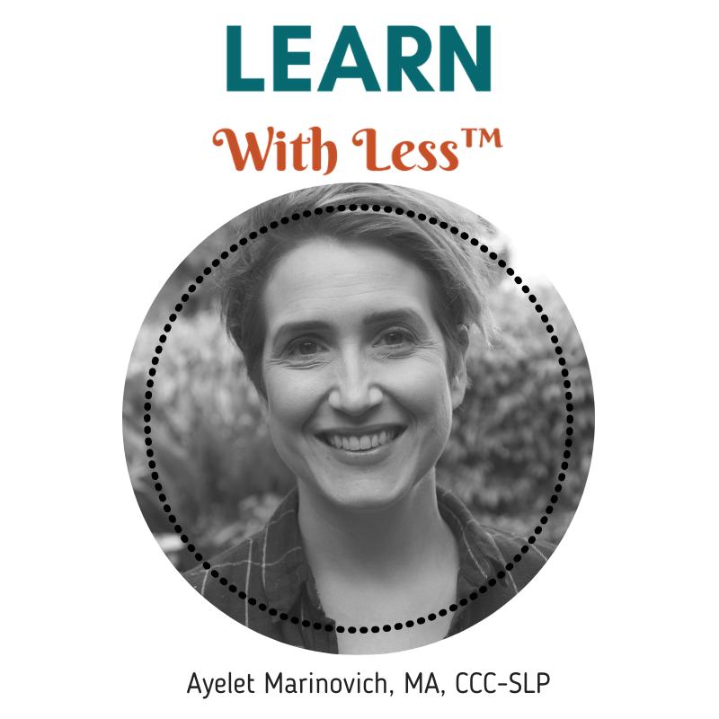 Ayelet Marinovich music speech therapy