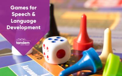 Best Games for Speech & Language Development