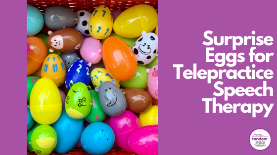 surprise eggs speech therapy