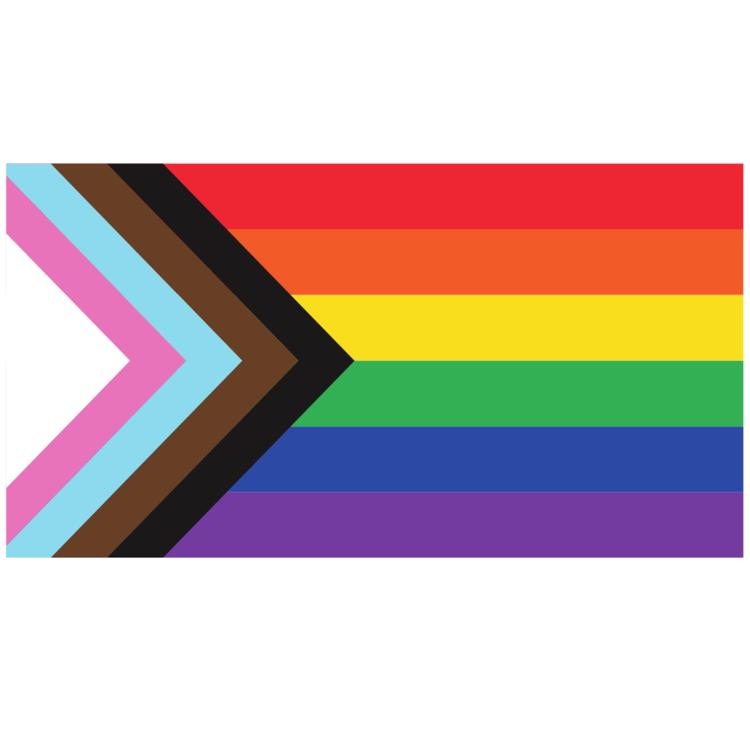 LGBTQ+ progress pride flag